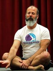 Steven Russell has been teaching yoga since 2010.