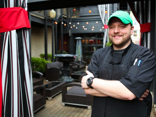 Chef Dallas McGarity at Marketplace Restaurant at Theater Square.