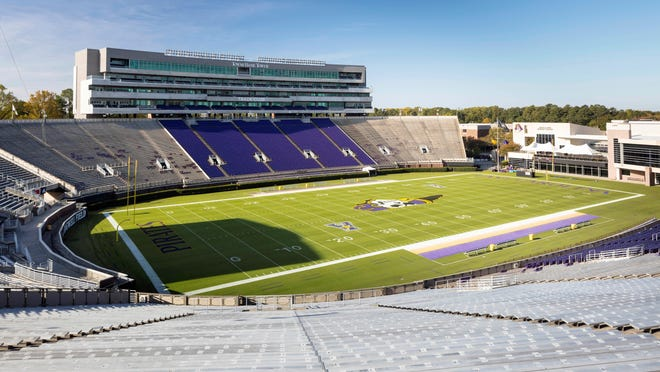 ECU welcomes UCF to Dowdy-Ficklen Stadium in its season opener Saturday. The game will be broadcast on ABC with a noon kickoff time.
