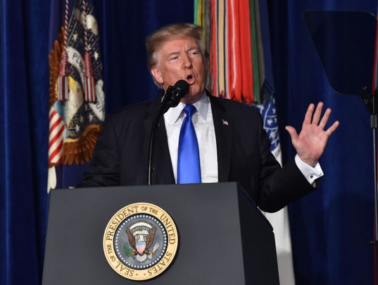 Analysis: Trump reverses views on Afghanistan, a war with no easy exits