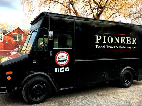 The Pioneer Food Truck replaces Dolce VT at the ArtsRiot Truck Stop.