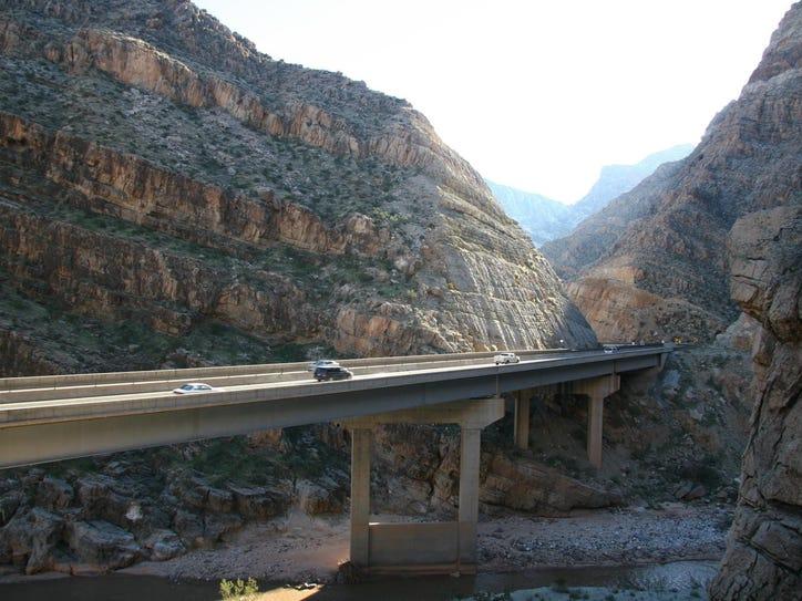 The Arizona Department of Transportation has opened