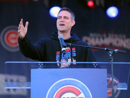 MLB: World Series-Parade