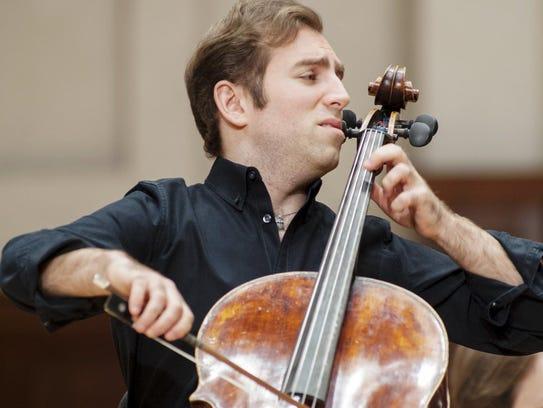 Cellist Thomas Mesa won $50,000 as the senior division