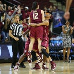 Florida State reached its second straight Sweet 16, defeating No. 4 seed Texas A&M 74-56.