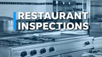 Five restaurants were out of compliance in the latest round of health inspections.