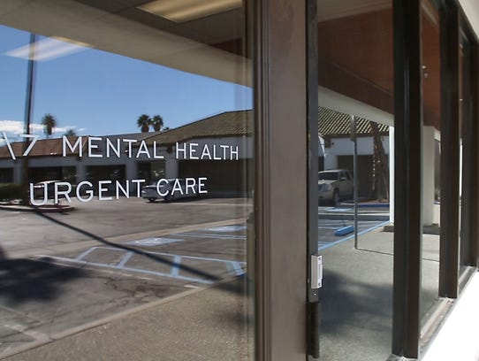 The Mental Health Crisis Center in Palm Springs is