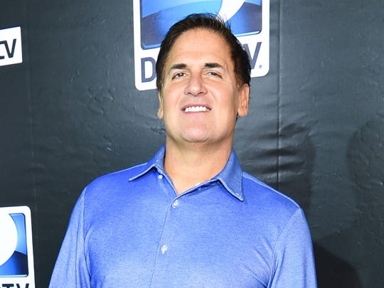 "Dallas Mavericks owner and ""Shark Tank"" star Mark Cuban will play the president of the United States in the third installment of the goofy ""Sharknado"" TV movie series, set to premiere in July."