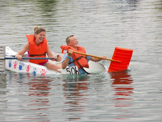 Entries in the July 15 Crazy Cardboard Regatta at Voice