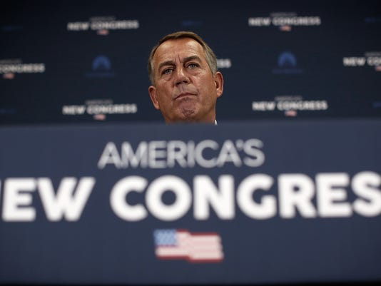 House Speaker John Boehner And GOP Leadership Address The Media After Party's Weekly Conference Meeting