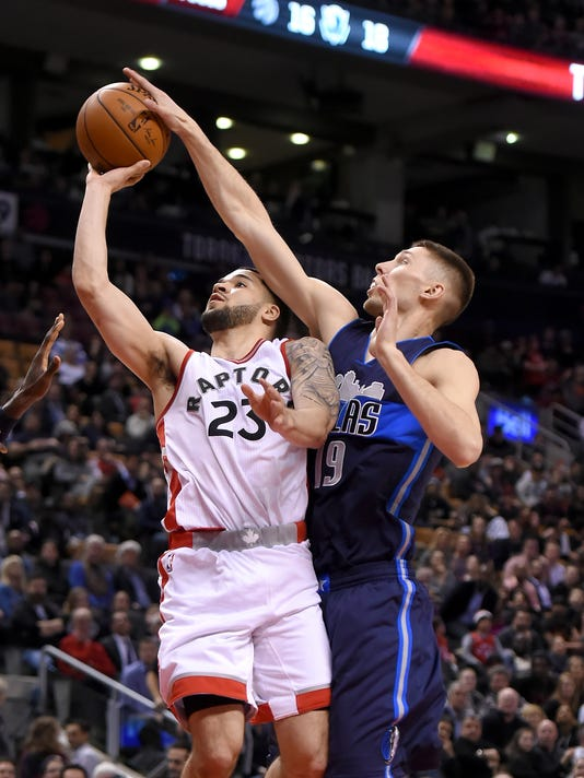 NBA: Dallas Mavericks at Toronto Raptors