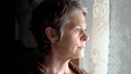 "Melissa McBride plays Carol on AMC's ""The Walking Dead."""
