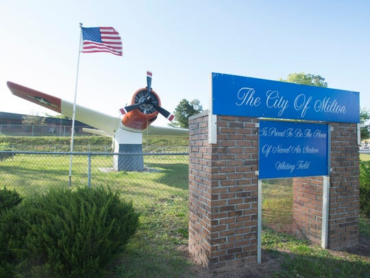 The Milton City Council on Monday heard that it could cost about $80,000 to repair thestatic Trojan 28B aircraft that has been displayed outside Milton High School since 1976.