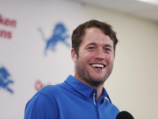 Matthew Stafford contract extension
