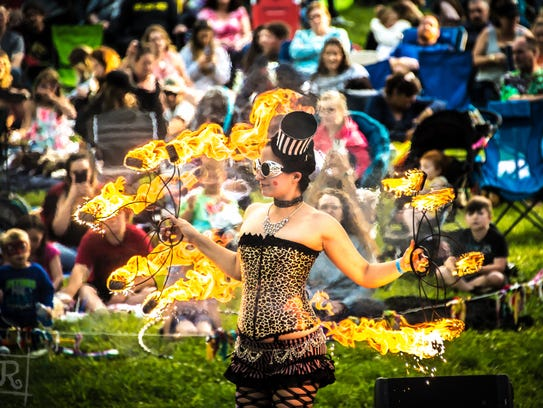 The Redding Fire Festival meets this weekend at theShasta
