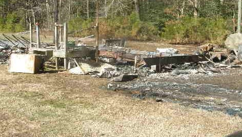 Authorities have not yet identified the victim of a fatal fire on Occohannock Neck Road near Exmore on  Wednesday, Jan. 27, 2016.