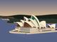 The Sydney Opera House.
