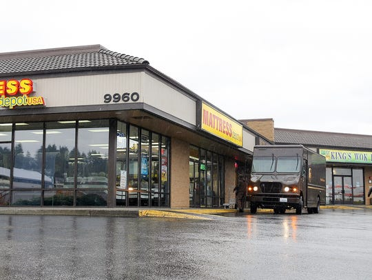 The Westsound Plaza in Silverdale owned by Lou Weir.