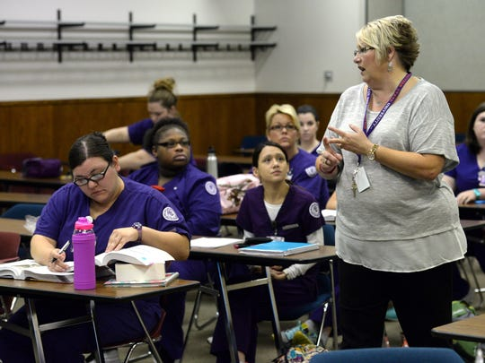 Tamara Baxter teaches nursing students at the Shreveport campus of Northwestern State. NSU is ranked No. 1 in the nation for online RN to BSN nursing programs.