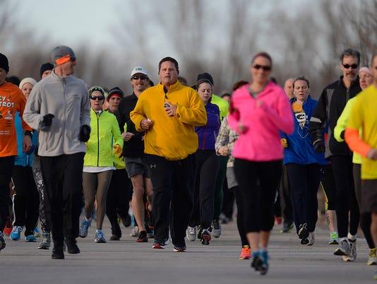 Bellin Run training