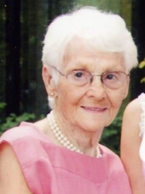 Edna I. Badger, 94