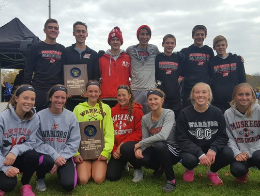 Muskego cross-country teams