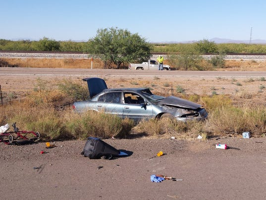 Car Accident Tucson June