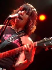 PJ Harvey performs in 2004 in Montreux, Switzerland.