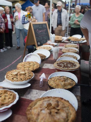 Collingswood Farmers Market will hold an apple pie contest Oct. 17.