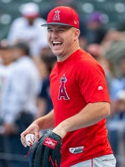 """""""Let's see what happens,"""" Mike Trout says about his"""