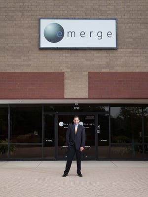 Emerge Technologies' Richard Brown, who is a managing partner with Tim Witte, Darron Scanlon and Jesse Kegley.