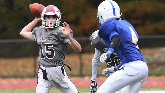 Ardsley defeated Albertus Magnus 22-16 in football