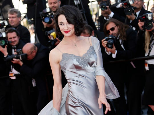 Asia Argento at Cannes Film Festival in May 2013.