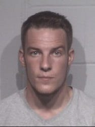 Police photo of Brian Engelmann, who was arrested July 16 for vehicle theft.