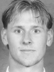 Brian Leitza during his playing days at St. Cloud State