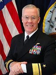 Retired Rear Adm. Donald Quinn