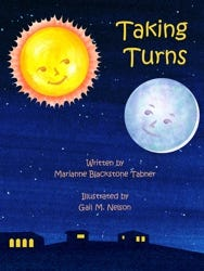 """Taking Turns"" is a new children's book written by former Acton resident Marianne Blackstone Tabner."