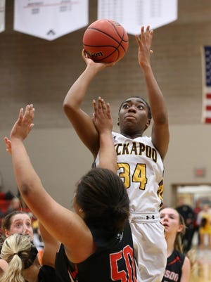 Jordan Sanders of Kickapoo verbally committed to play basketball at University of California-Irvine on Monday, Aug. 15.