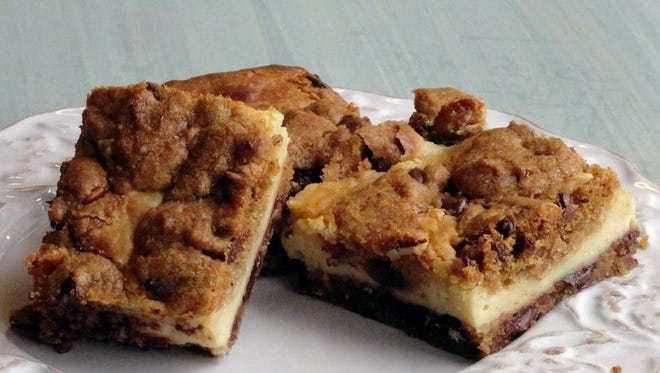 Ania Rebeil's chocolate chip cream cheese brownies are hard to resist.
