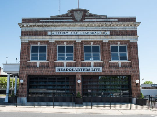 An exterior view of Headquarters Live on the corner of Division Street and Circle Avenue on Wednesday, May 3, 2017.