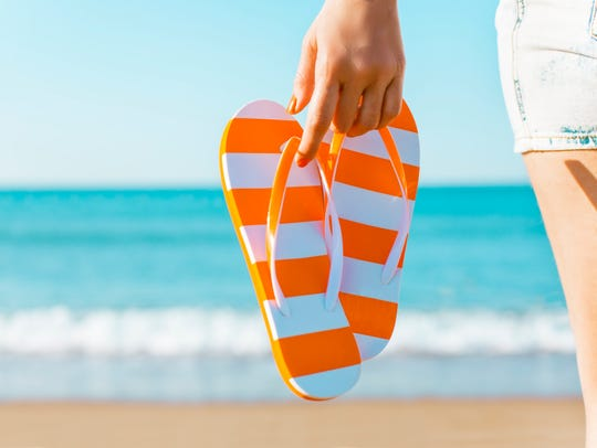 What is your footwear of choice during summer?