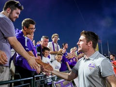 James O'Connor coaches his last Louisville City FC game