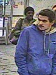 Police say this man is suspected of taking several