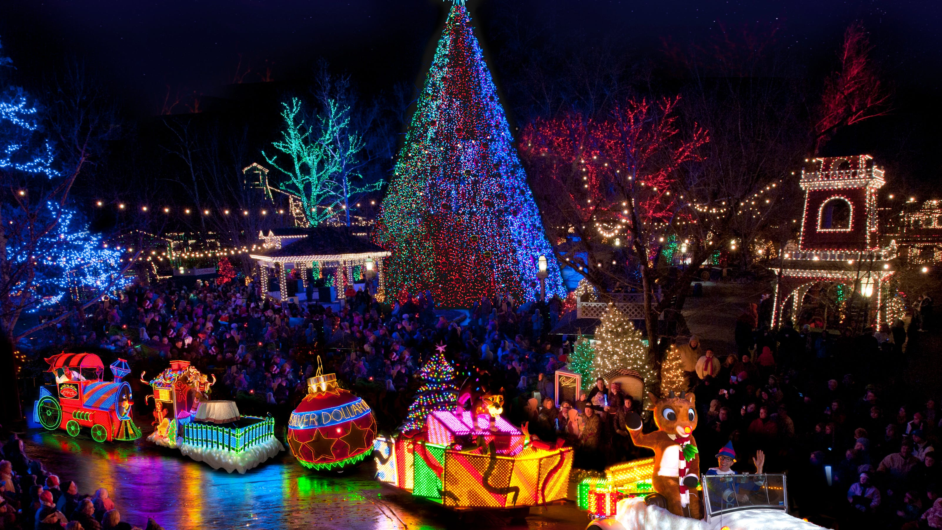 Vote To Make Silver Dollar City A 10best For Holiday Lights