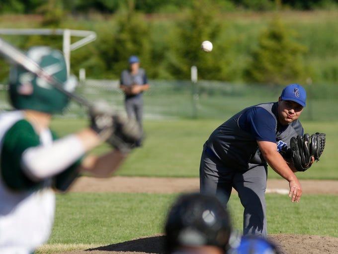 Summer baseball - Kohler/Sheboygan Christian at Sheboygan Lutheran