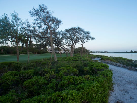 As part of the guidelines to be certified in Audubon International's Cooperative Sanctuary Program, all property and golf courses sit at least 75 feet away from the St. Lucie River. Harbour Ridge Yacht & Country Club in St. Lucie County has been certified with Audubon's program since 2000, at the time just the 31st golf course to gain that certification in Florida.