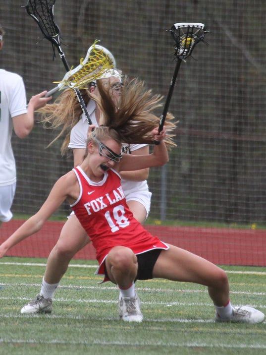 Fox Lane at Yorktown girls lacrosse