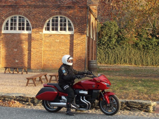 Petras stops at John Brown's Fort in Harpers Ferry.