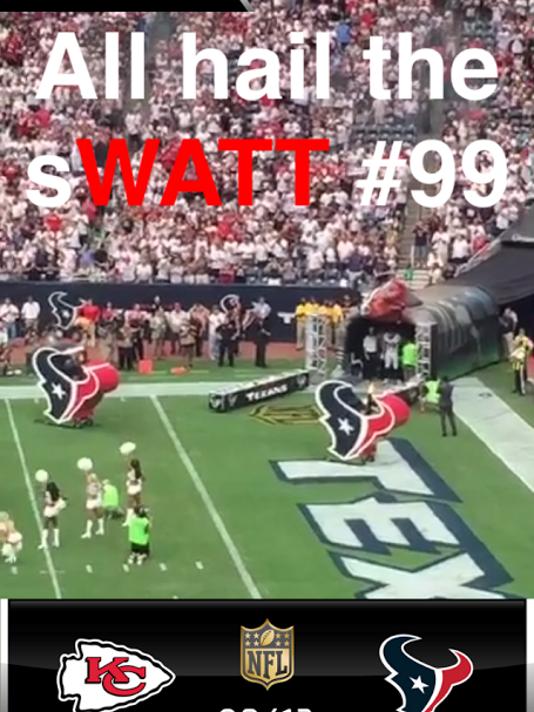 NFL Snapchat story
