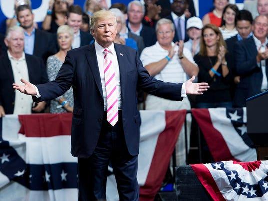 AFP AFP_SO7O8 A POL USA. President Donald Trump ...